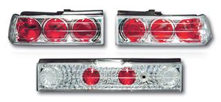 SONAR(ソナー) テールライト ホンダ CR-X ユーロ テール ランプ クローム インナー クリスタル レンズ EF CR-X