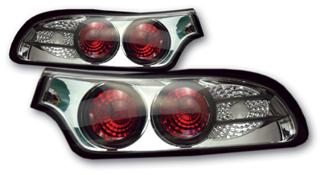 SONAR(ソナー) テールライト マツダ RX-7 ユーロ テール ランプ クローム インナー クリスタル レンズ FD3S RX-7