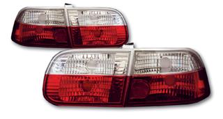 インナー ホンダ レッド&クリスタル ランプ ベーシック クローム シビック シビック EG レンズ SONAR(ソナー) 3ドア テールライト テール