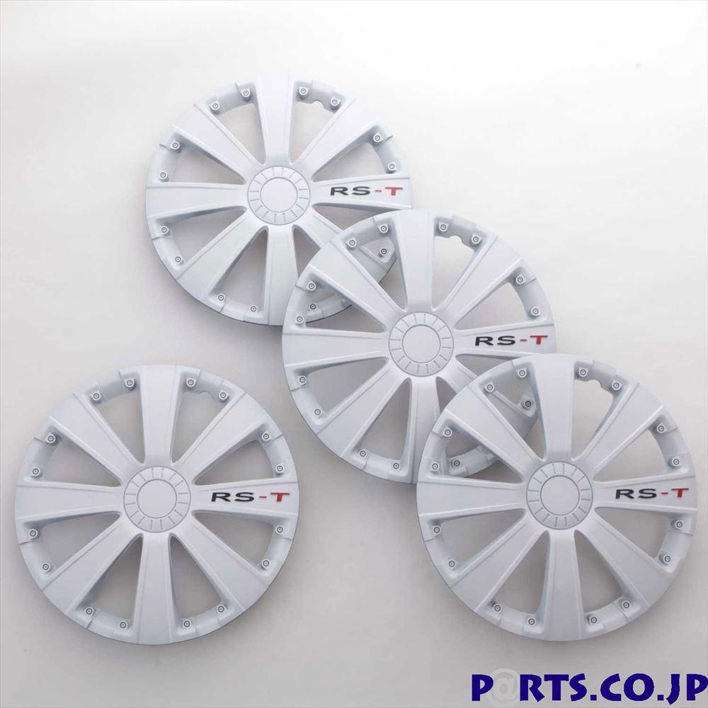 ホイールカバー 16インチ ホイールカバー 4枚1セット RS-T 16インチ WHITE