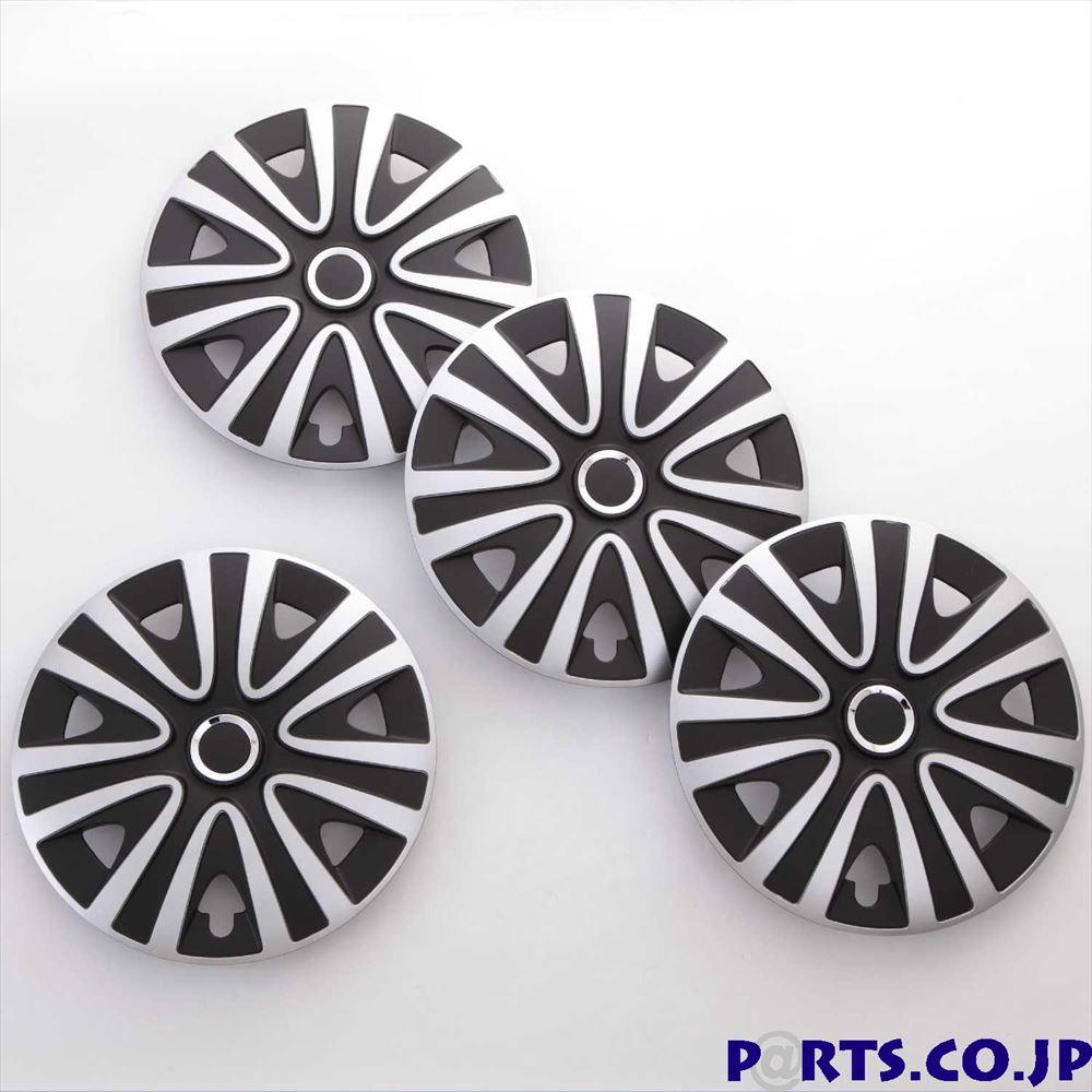 ホイールカバー 15インチ ホイールカバー 4枚1セット RIALTO 15インチ PRO/SILVER/BLACK