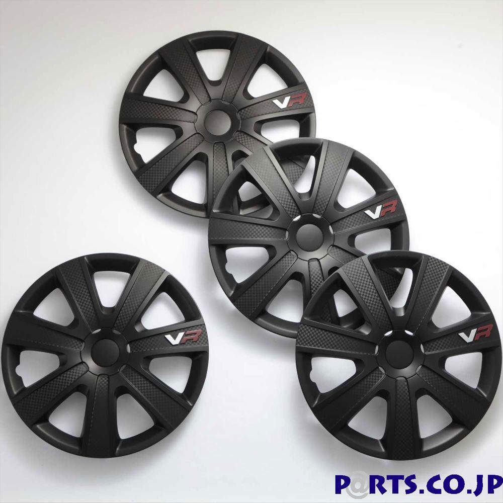 ホイールカバー 16インチ ホイールカバー 4枚1セット VR 16インチ CARBON/BLACK
