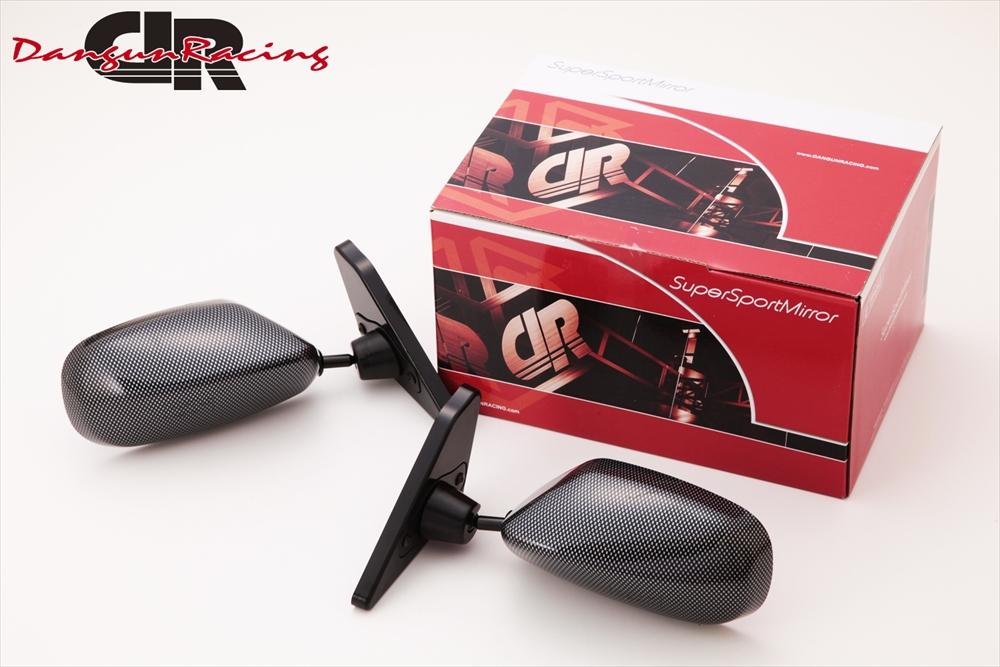 SuperSportMirror(スーパースポーツミラー) 三菱 ギャランフォルティス ドアミラー GT2ミラー カーボンルック/手動 CY4A ギャランフォルティス