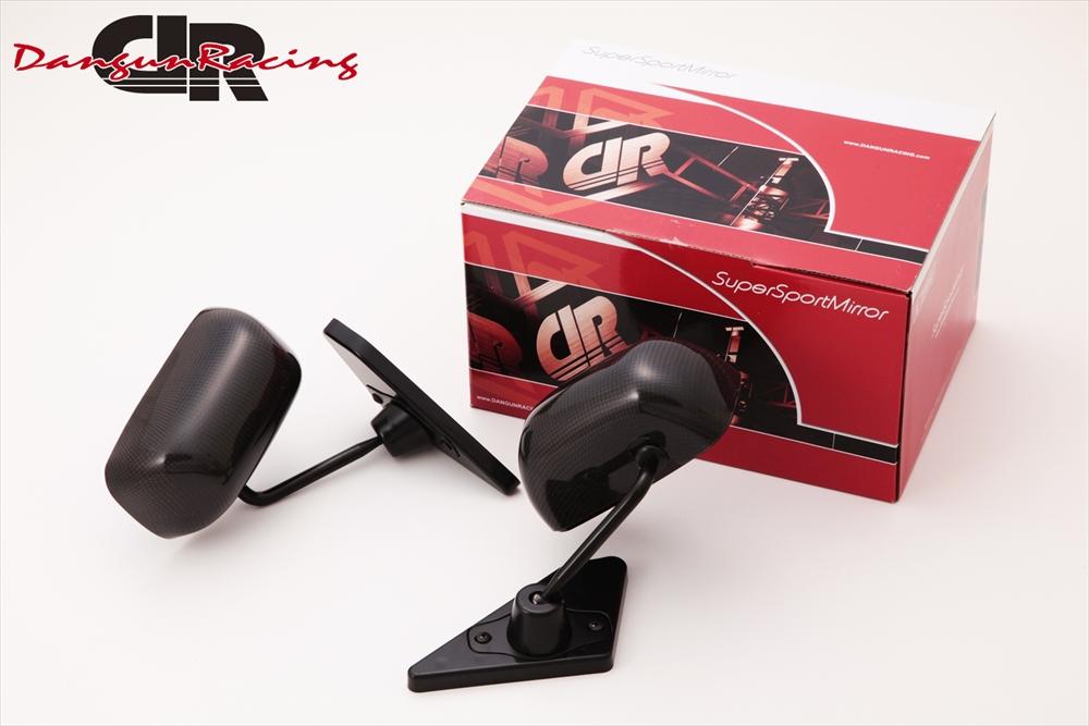 SuperSportMirror(スーパースポーツミラー) ホンダ シビック ドアミラー GT1ミラー リアルカーボン/手動/右ハンドル車(ベースリアルカーボン) FD1/2 シビック