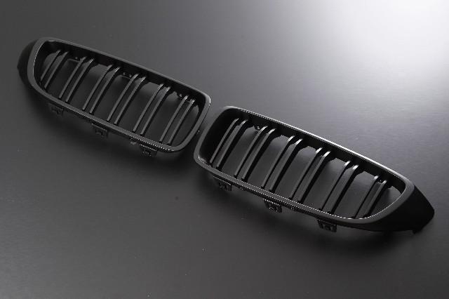 Europarts(ユーロパーツ) BMW 4シリーズ F32 グリル キドニーグリル BMW 4シリーズ F32 Mルック 12-UP マットブラック