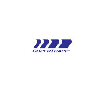 SUPERTRAPP (受注発注品) 5インチ ステンレス 546サイレンサー (3.5インチ) ポリッシュ 546-3519