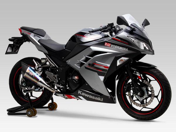 ヨシムラ Ninja250/ABS・Z250用 Sip-On R-11 サイクロン 1エンド EXPORT SPEC政府認証[STB] 110-227-5E80B