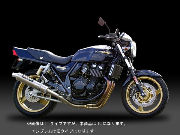 ヨシムラ ZRX400/2(~08)用 機械曲チタンサイクロンマフラー[TC] 110-232-8294
