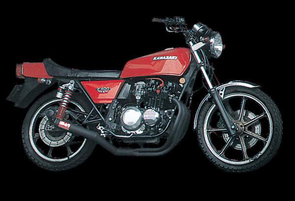ヨシムラ Z400FX/GP/ZEP400用 機械曲ストレートサイクロンマフラー(B) 110-241-4640