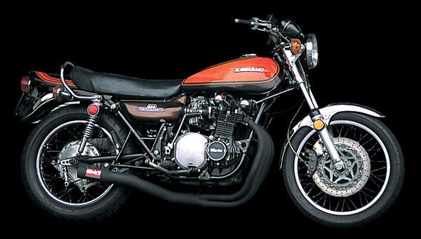 ヨシムラ Z1/Z2用 機械曲ストレートサイクロンマフラー(B) 110-291-4640