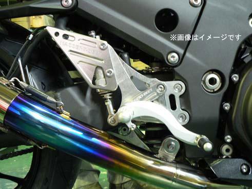 BEET Ninja ZX-14R ABS用 ハイパーバンク ヒールガード無仕様 可倒式[シルバー] 0113-KB8-25