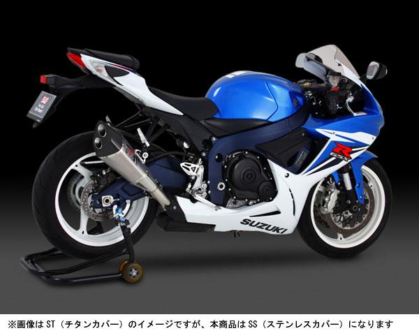 ヨシムラ GSX-R600('11-'12)用 Slip-On R-11サイクロン2エンド EXPORT SPEC/SS 110-571-5550
