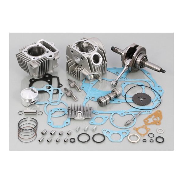 キタコ 108cc スタンダード ボアアップKIT タイプ2 アルミシリンダー(鋳鉄) ハイカム/SEロッカーアーム付 214-1083205