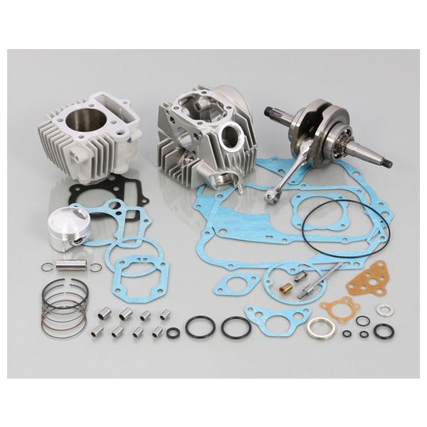 キタコ 108cc スタンダード ボアアップKIT タイプ2 アルミシリンダー(硬質メッキ) モンキー/ゴリラ 215-1014225