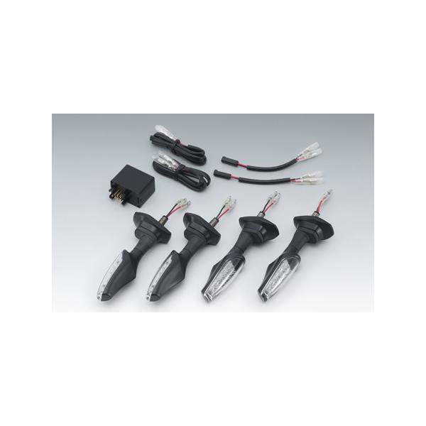 キジマ V-ストローム650/GSR750 TRL2 LEDウインカーランプKIT クリアレンズ 219-5172