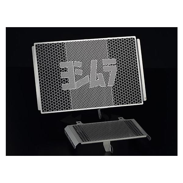 ヨシムラ MT-10(17) ラジエター&オイルクーラーコアプロテクター ステンレス(SUS304) 454-38E-0000