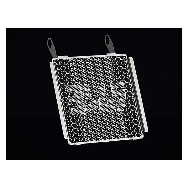 ヨシムラ ラジエターコアプロテクター [シルバー] GSX-R150/GSX-S150/GSX-S125/GSX-R125/RAIDER R150 FI 454-524-0000