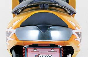 【○在庫あり→5月22日出荷】キタコ ファルツァ FORZA MF06用 テールランプミラーカバー 658-1805200