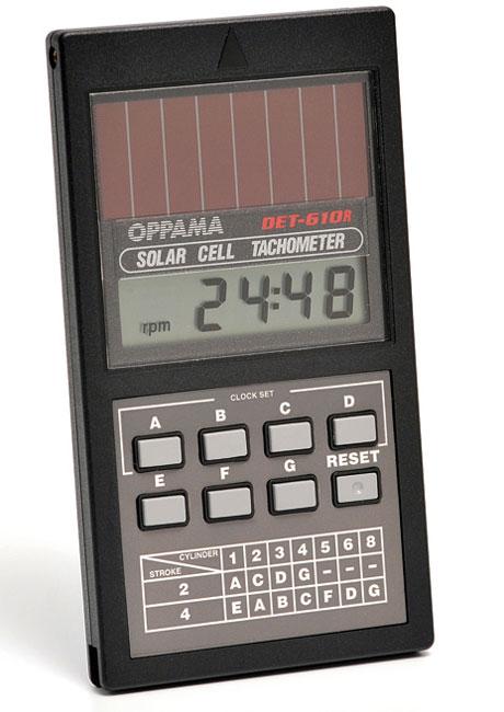 キタコ OPPAMA エンジンタコメーター(DET-610R) 752-0600016
