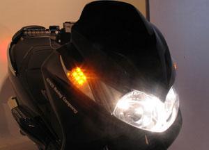 キタコ スカイウェイブ250(K3-K6)用 LEDフロントウインカーKIT 807-2785300