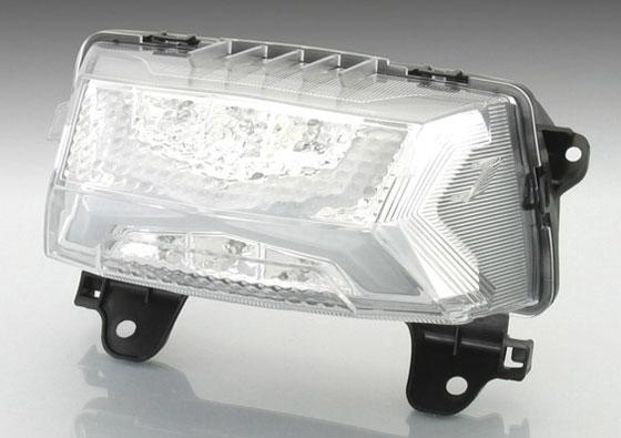 【○在庫あり→8月28日出荷】キタコ ZOOMER-X(ズーマーX)用 LEDテールランプSET[クリア] 809-1155300