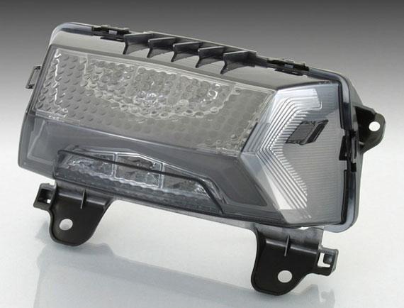 【○在庫あり→1月7日出荷】キタコ ZOOMER-X(ズーマーX)用 LEDテールランプSET[スモーク] 809-1155310