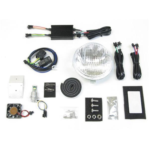 プロテック LBH-H12 LEDクラシカルヘッドライトキット 3000K  スーパーカブ110PRO('18~) 63008-30