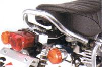 Gクラフト モンキー用 アジャスタブルグラブバー G33137