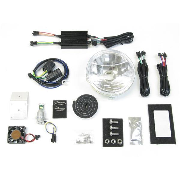 プロテック LBH-H13 LEDマルチリフレクターヘッドライトキット 6000K  スーパーカブ110PRO('18~) 64008-60
