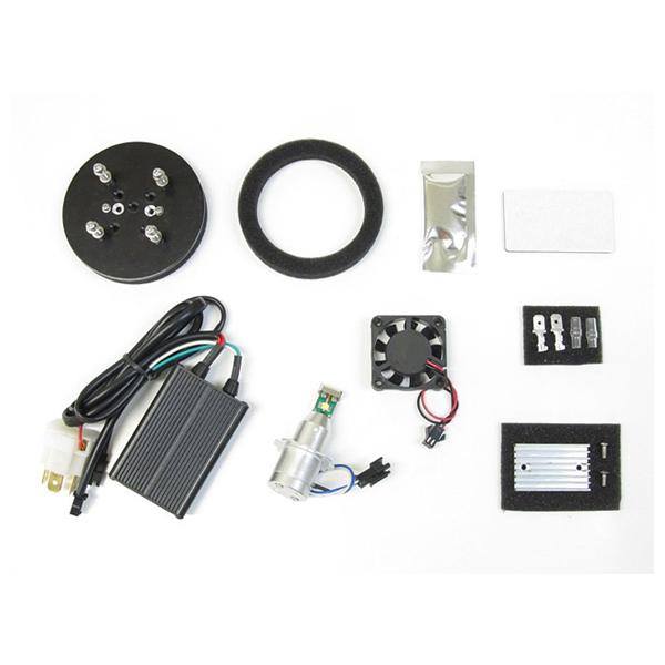 【○在庫あり→8月28日出荷】プロテック LB7-SS LEDヘッドライトバルブキット H7(スリム&ショートタイプ) 6000K CBR600RR/ZX-10R/ZX-6R 65042