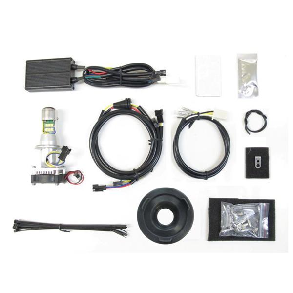 プロテック LB4-XL3 LEDヘッドライトバルブキット H4 Hi/Lo 3000K ハーレー スポーツスター専用 65050-30