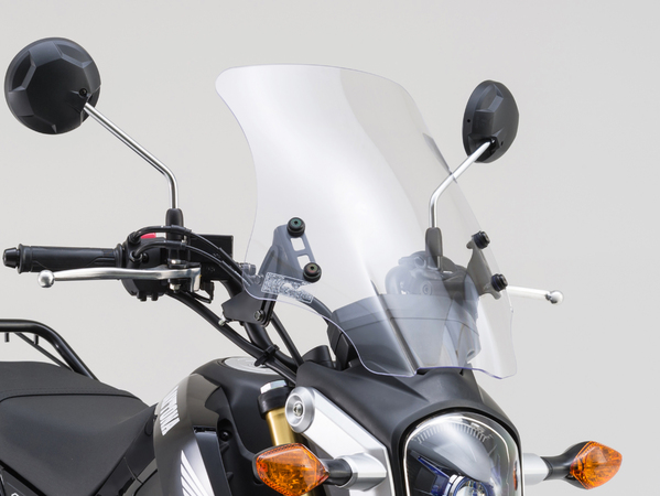 【○在庫あり→12月9日出荷】デイトナ GROM(グロム)用 ウインドシールドHC 90707