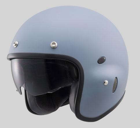 デイトナ Hattrick パイロットタイプヘルメット PH-1[マットグレー/Mフリー] 91410