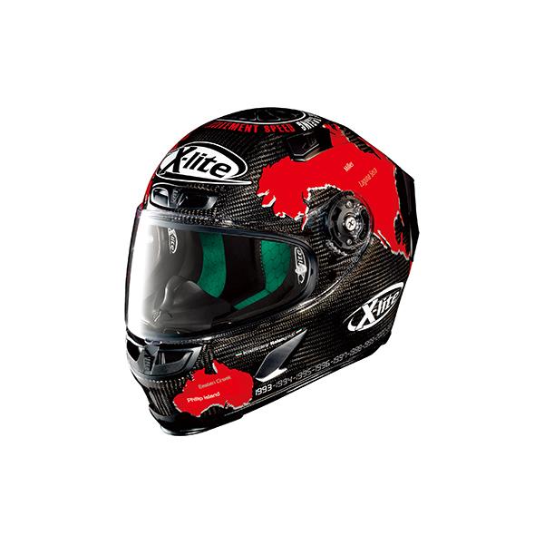 【○在庫あり→1月7日出荷】デイトナ NOLAN(ノーラン)ヘルメット X-803 チェカ [カーボン/19 Sサイズ] 97621
