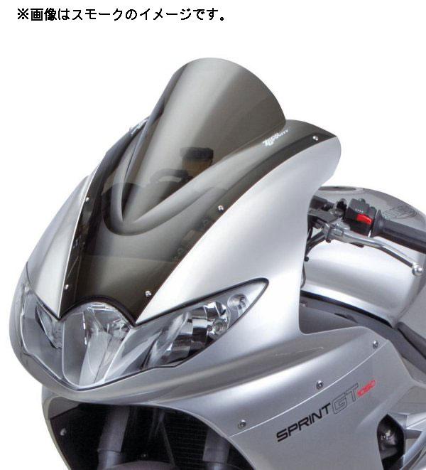 ゼログラビティ TRIUMPH SPRINT GT('11-'12)用 スクリーン ダブルバブル[スモーク](トリムシール付) 1691302
