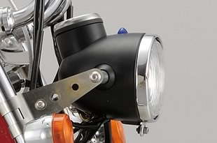 シフトアップ モンキー NEO CLASSIC ヘッドライトASSY 赤塗装 205020-02