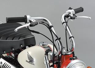 【○在庫あり→3月25日出荷】シフトアップ XR50/100 アップタイプ セパレートハンドル (メッキ) 205060