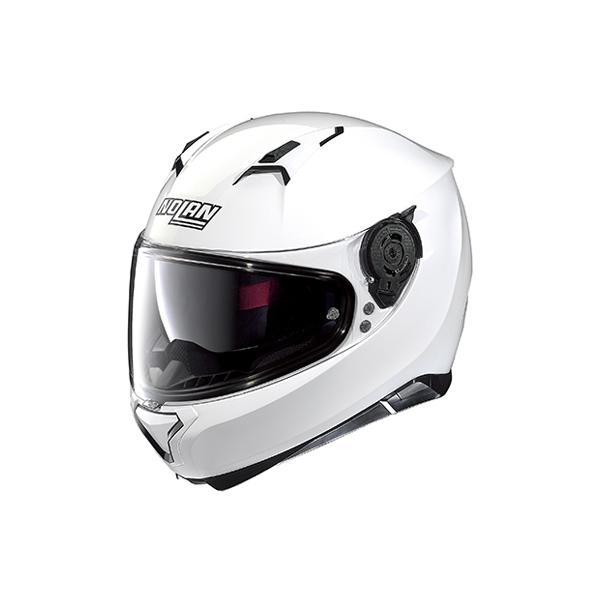 【○在庫あり→5月19日出荷】デイトナ NOLAN(ノーラン)ヘルメット N87 ソリッド [メタルホワイト/5 XLサイズ] 98340