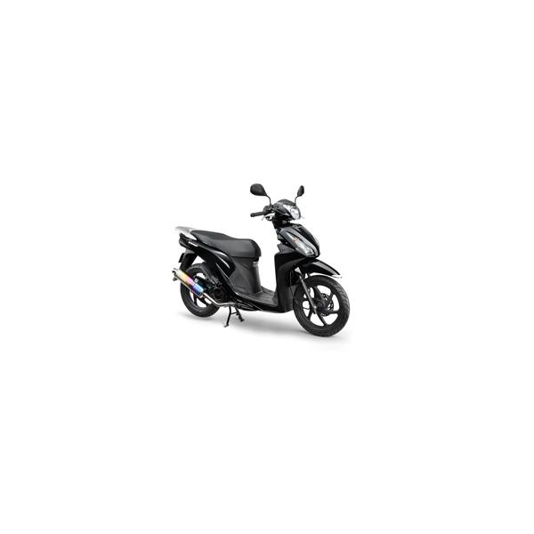 モリワキ DIO110 ZERO ステンEX+ANOチタン 01810-A31H5-01