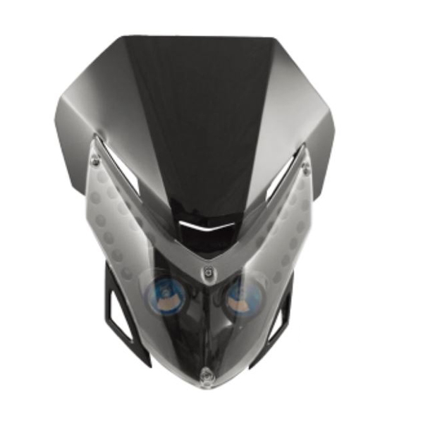 アチェルビス LEDビジョン ヘッドライト (ブラック) AC-12484BK