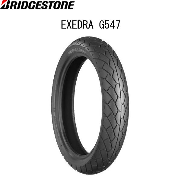 ブリヂストン BRIDGESTONE MCS07824 EXEDRA G547(エクセドラ G547) フロント 120/70-17 M/C 58H TL B4961914850050
