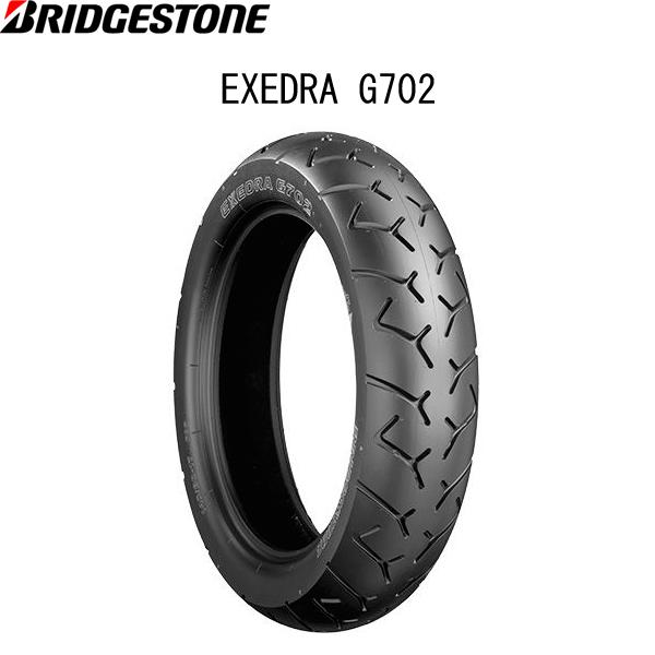 ブリヂストン BRIDGESTONE MCS07184 EXEDRA G702(エクセドラ G702) リア 160/80-15 M/C 74S TL B4961914852542