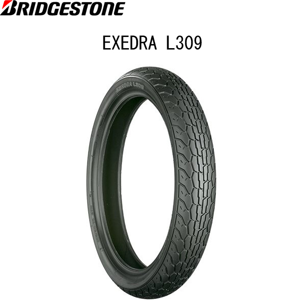 ブリヂストン BRIDGESTONE MCS08048 EXEDRA L309 フロント 140/80-17 M/C 69H W B4961914852825