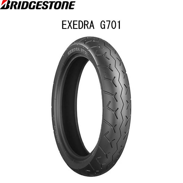 ブリヂストン BRIDGESTONE MCS00964 EXEDRA G701(エクセドラ G701) フロント 100/90-19 M/C 57H W B4961914855420