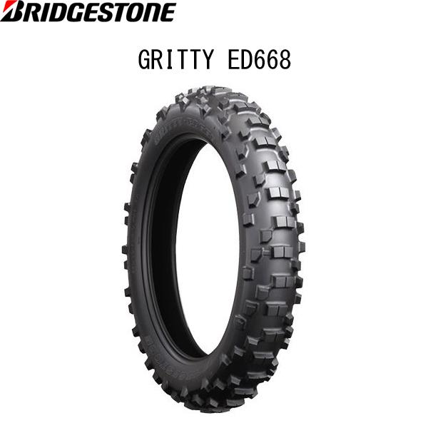 ブリヂストン BRIDGESTONE MCS08664 GRITTY ED668 リア 140/80-18 M/C 70R W B4961914857745