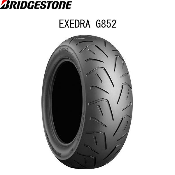 ブリヂストン BRIDGESTONE MCR00674 EXEDRA G852 RADIAL(エクセドラG852) リア 200/60R16 M/C 79H TL B4961914861988