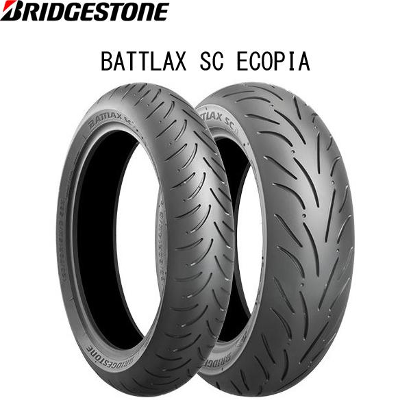 ブリヂストン BRIDGESTONE MCR00560 BATTLAX SC ECOPIA リア 160/60R14 M/C 65H TL B4961914862305