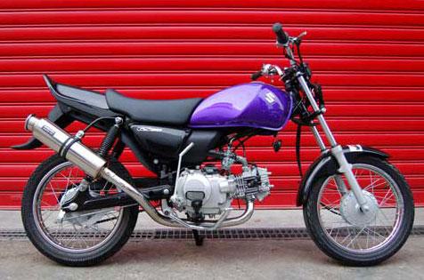 BEAMS GS50 BA-NA41A SS300ソニック マフラー B308-07-000