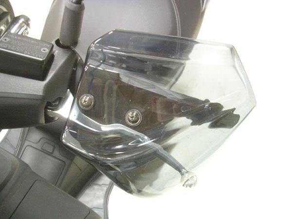 【○在庫あり→12月9日出荷】旭風防 SUZUKI BURGMAN200(バーグマン200)用 ナックルバイザー BU-01