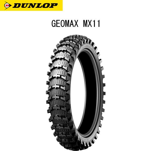 ダンロップ DUNLOP 323616 GEOMAX MX11 リア 110/100-18 64M WT D4981160998344